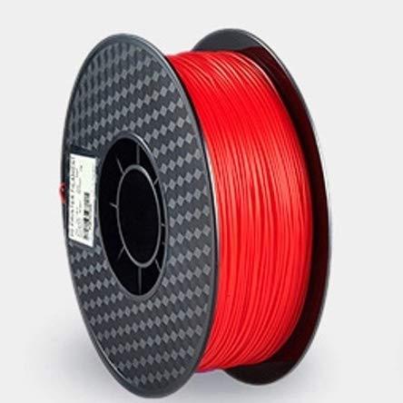 SRY-Holster HH-DYHC, Impresora 3D 1pc filamentos Impresora 3D Wire 1,75 mm plástico PLA 250g / Rollo 3D Material de impresión precisión Dimensional (Color : Red)