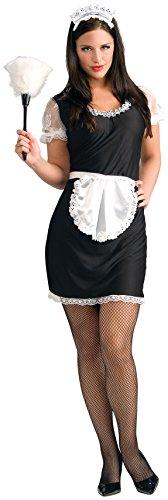 Rubie's - Disfraz de criada para adultos, talla única standard (55010)