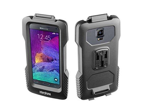 Cellularline Pro-Case–Funda con Soporte de Manillar para Samsung Note 4/Note 3/S6Edge Plus