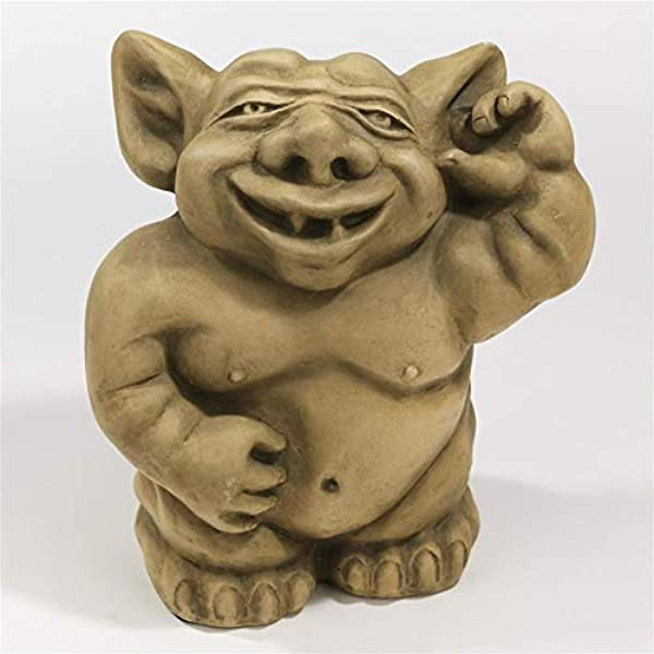 Design Toscano The Picc A Dilly Gargoyle Sculptures Small Set Includes Small Bum Ear And