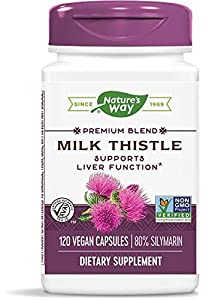 SUPPORTS LIVER FUNCTION*: Milk Thistle is traditionally used to support liver function* NON-GMO PROJECT VERIFIED: We're proud partners with The Non-GMO Project. Nature's Way Standardized Milk Thistle is Non-GMO Project Verified. AUTHENTIC TRU-ID CERT...