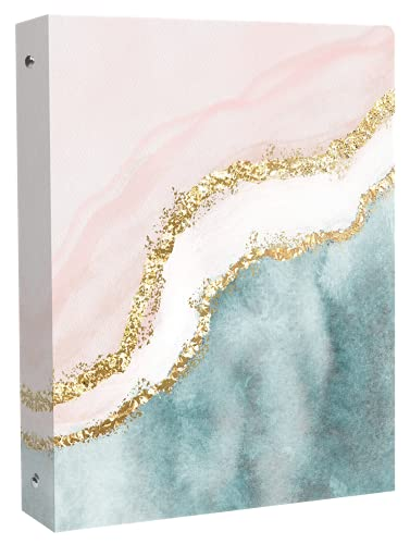 """bloom daily planners 3-Ring Fashion Binder (10' x 11.5"""") - 1 Inch..."""
