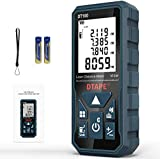 Laser Measure, DTAPE 328 Feet Digital Laser Tape Measure M/In/Ft Unit switching Backlit LCD and Pythagorean Mode, Measure...