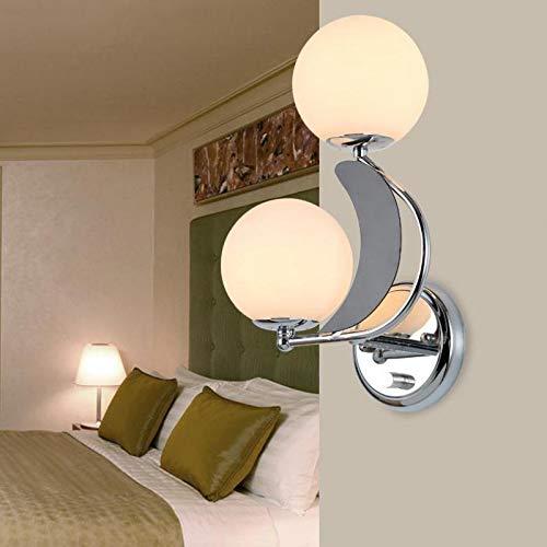 Applique Murale Interieur Décoration Lampe Salon Unique Et Roman Led Maison E27 110V 220V Livraison Gratuite Boule De Verre Droite