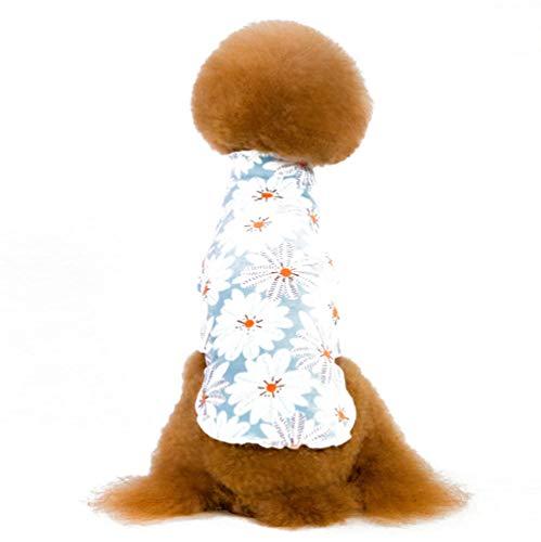 CHEMYAO Kleding Voor Huisdieren, Coltrui Voor Huisdieren, Zachte Hondenkleding, Modieuze Pyjama, Hondenjas Voor Kleine En Middelgrote Honden-3 Kleuren