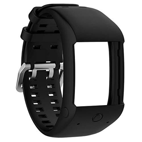 Ixkbiced Nuevo reemplazo de Pulsera de Pulsera de Banda de Reloj de Silicona para Reloj GPS Polar M600