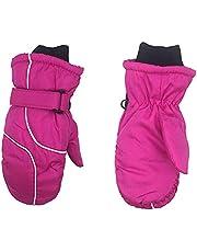 Ski-wanten voor meisjes jongens 1 paar kinderen warme winterhandschoenen Outdoor waterdichte handschoenen