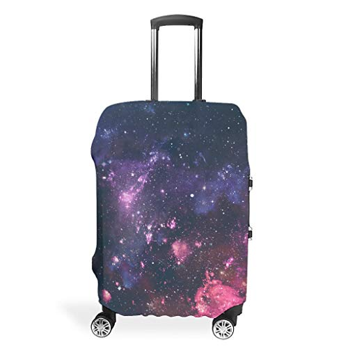 Fundas para maleta de viaje Galaxy – Impresión espacial de varios tamaños para un montón de equipaje