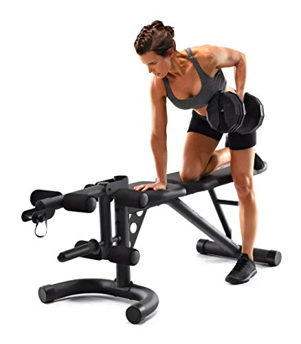 Gold's Gym XRS 20 Olympic Workout Bench GGBE19615