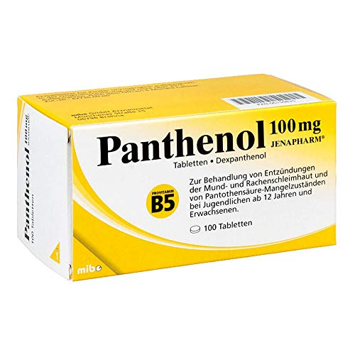 Panthenol 100 mg Jenapharm, 100 St. Tabletten