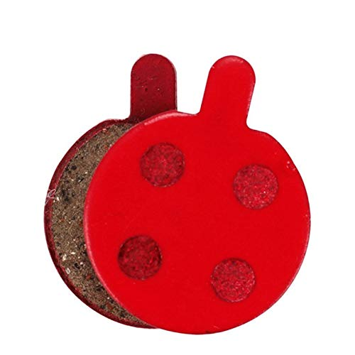 (P229BP) Freno de cerámica Pastilla de Disco Pastillas de Freno para Sram Avid MTB Semi-Metallic Rojo