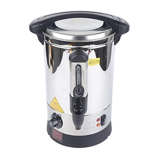 YiWon Glühweinkocher 5 L Heißwasserspender Kaffee Tee Wasserkocher Edelstahl Getränkekocher - Getränke-Spender mit Zapfhahn 1500W