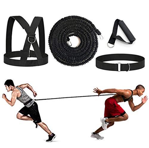 sunSign Widerstandstraining Seil Körperliches Training Widerstandsseil-Kit für Arme und Beine Geschwindigkeits-Beweglichkeitstraining Geschwindigkeit und Kraft verbessern (5m Kit)