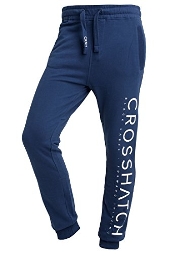 CROSSHATCH Herren Jogginghose Shacka Jogger Blau XL