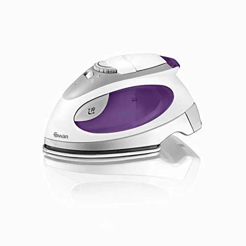 Swan SI3070N Compact Fast Heat up Steam Travel Iron with Pouch and Beaker