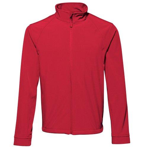 2786 - Veste Softshell Hydrofuge et Coupe-Vent - Homme (S) (Rouge)