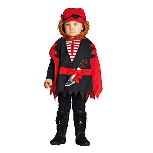 4U-Onlinehandel 12829-92 Cape Gr. 92 Kape Pirat Umhang Kostüm Kinderkostüm, Multi-Colored