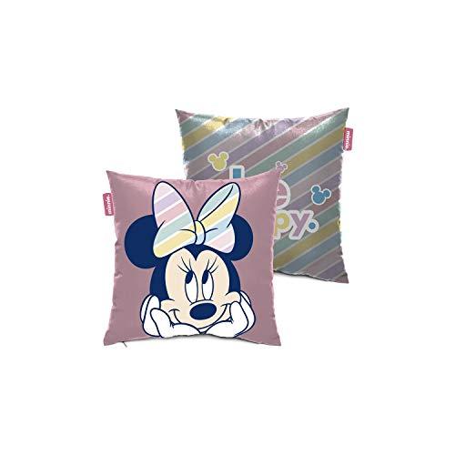 ARDITEX WD13224 Cojín de 40x40cm de Disney-Minnie