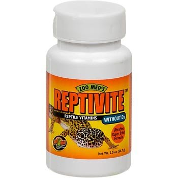 Zoo Med Reptivite, without Vitamin D3, 2-Ounce