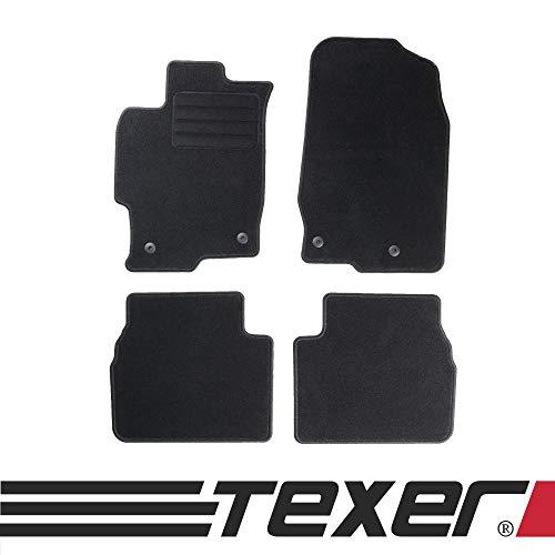CARMAT TEXER Textil Fußmatten Passend für Mazda 6 II Bj. 2008-2012 Basic