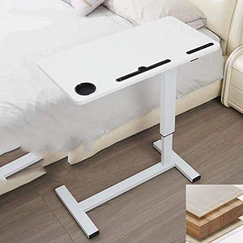 L.W.S Mesa plegable Escritorios de compilación de bastidor de acero al carbono con placa de acero negro, altura ajustable, giro de 360 ° y 180 ° de inclinación, ruedas de bloqueo, mesa ajustable ple