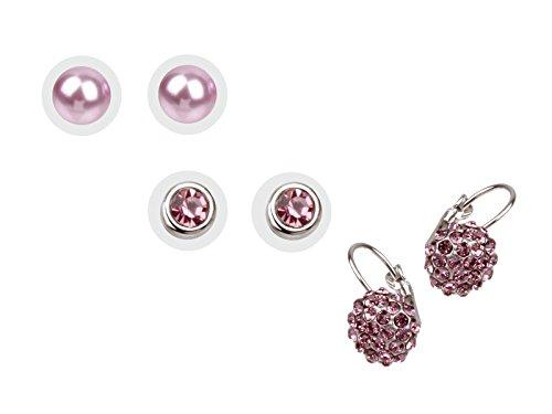 scarlet bijoux | Ohrring rosa