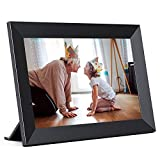 Jeemak WiFi Digital Photo Frame 8 Inch Picture Frame with IPS Touch Screen Portrait or Landscape Stand Auto-Rotate Share Photos and Videos via App at Anytime and Anywhere