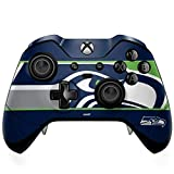 Skinit Decal Gaming Skin Compatible with Xbox One Elite Controller - Officially Licensed NFL Seattle Seahawks Zone Block Design
