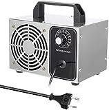 Mdcgok Generador de ozono Purificador de Aire para casa, 10000mg / h generador de ozono purificador de Aire Natural generador de ozono de Acero Inoxidable para desodorización y desinfección