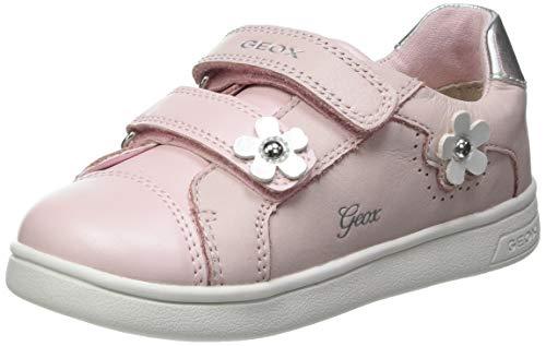 Geox Baby-Mädchen B DJROCK Girl C Sneaker, LT Rose, 24 EU