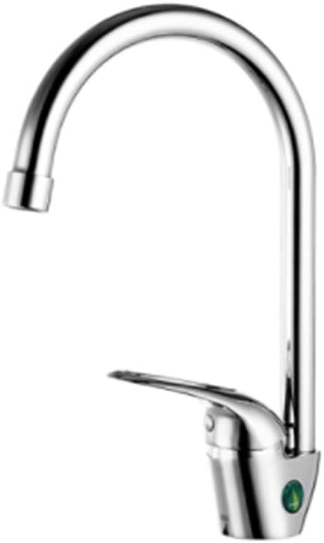 Single Cold hot Double Control Kitchen Health Trough Faucet wash Vegetable Basin Faucet