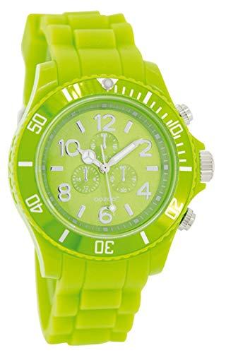 Oozoo JR228 - Orologio, cinturino in silicone, colore: verde