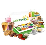 Hello Healthy Box Diet Starter Kit - Weight Management, Low Carb, Low Sugar, Protein Rich Grab 'n Go Single Servings Keto Friendly (14-Day-Kit)