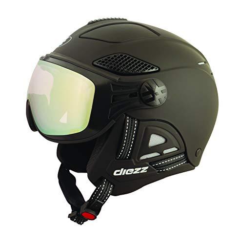 diezz Louna II Ski Helmet Black Unisex Black, Black , 53/55