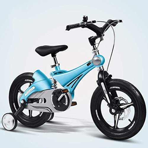 Qiangzi New Model 3 Wheel Baby Tricycle Children's Bike 12/14/16 Inches Baby Stroller 3-6 Years Old Mountain Bike Bicycle Child Bicycle Best Gift for Kids