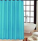 KAV Duschvorhang, Polyester, schimmelresistent, 180 x 180 cm, Mosaikfliesen Gemustert (wählen Sie die Farbe aus dem Drop-Down-Menü) blaugrün