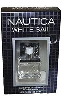 Nautica White Sail For Men Eau de Toilette .5 Oz
