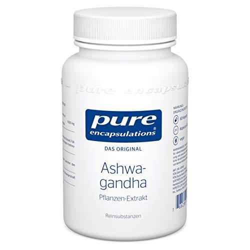 """Pure Encapsulations - Ashwagandha - Extrakt aus der Wurzel der""""Schlafbeere"""" traditionell bekannt aus dem Ayurveda - 60 vegane Kapseln"""
