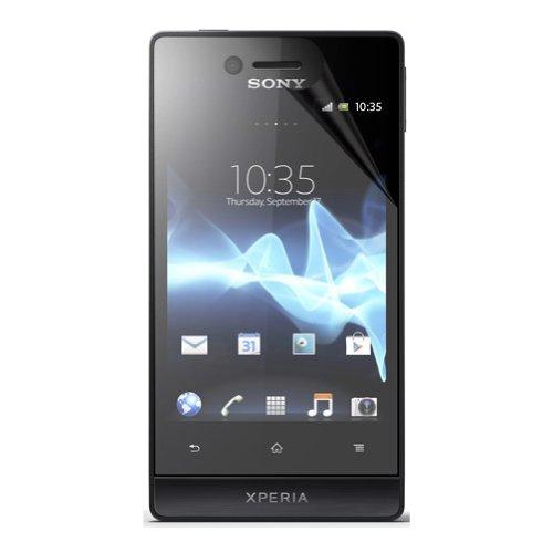Bluetrade Pellicola Anti Batterica per Sony Xperia Miro
