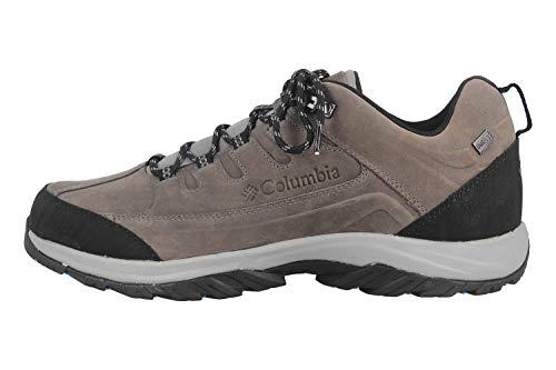 Columbia Terrebonne II Outdry, Zapatillas de Senderismo Hombre, Gris (Ti Grey Steel, Blue Jay), 43 EU