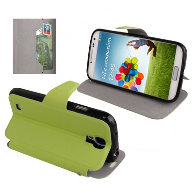 Digital Bay Srl Custodia TPU Horizontal Holder Verde per Samsung Galaxy S4 I9500 SIVpiu' Pellicola in Regalo