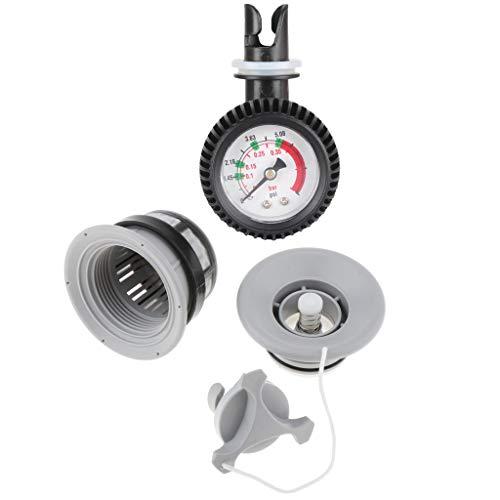 lahomia Medidor de Presión de Aire Y Comprobador de Tapón de Válvula
