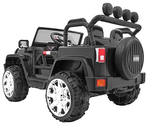 RC Kinderauto kaufen Kinderauto Bild 1: BSD Kinderauto Elektroauto Kinderfahrzeug Spielzeug Elektrofahrzeuge - Master 4x4 2-Sitzer - Schwarz*