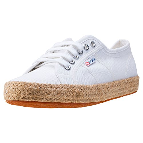Superga 2750 Cotropew - Zapatillas Unisex adulto, Blanco, 37 EU