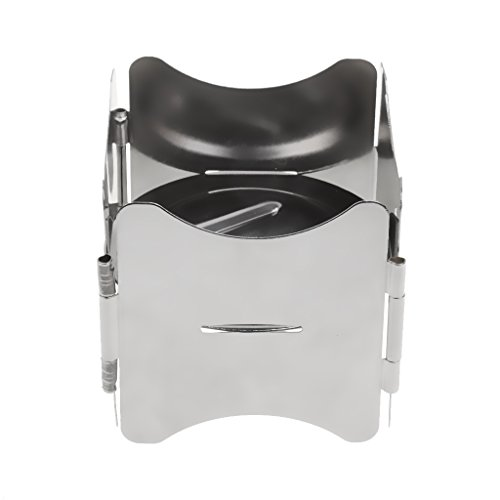 MagiDeal Campingkocher - Tragbar und Ultraleicht Alkohol Ofen Spiritus Ofen Im Freien Camping Picknick Herd