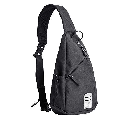 Sling bag for men,Waterproof small backpack Shoulder Chest Crossbody Bag with...