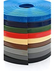 BST 1 m PVC kunststof leuning, trapleuning 40x8 mm