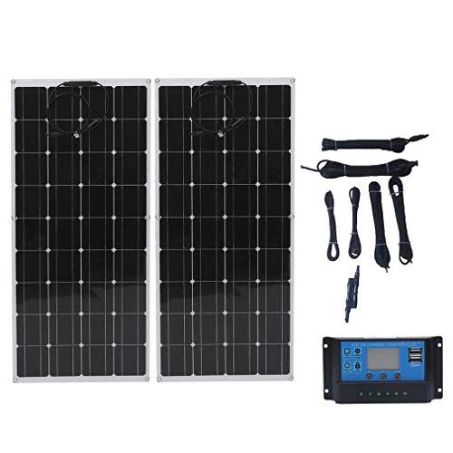 130W 12V Solarpanel Kit 2 stücke 130...