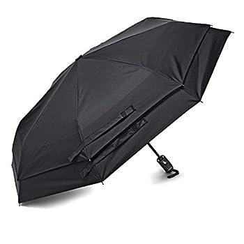 Samsonite Windguard Auto Open/Close Umbrella Black One Size