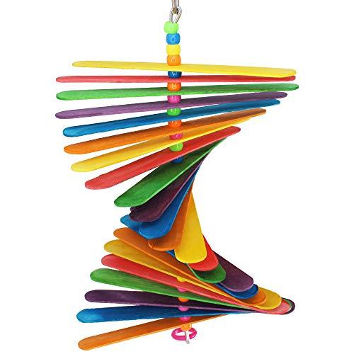 Bonka Bird Toys 867 Big Stick Colorful Wood Chew Beak Parrot Parrotlet Budgie Macaw African Grey